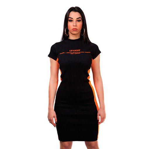 creaerwear_dressorangeblack_frontal2